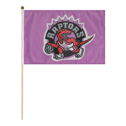 THE SPORTS VAULT TORONTO RAPTORS STICK FLAG PURPLE