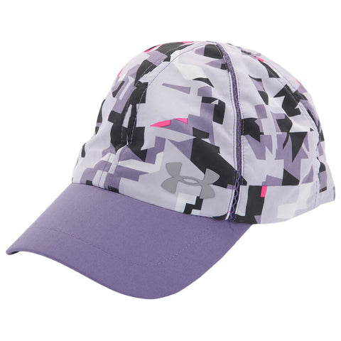 UNDER ARMOUR GIRL'S PRINTED SHADOW CAP PURPLE