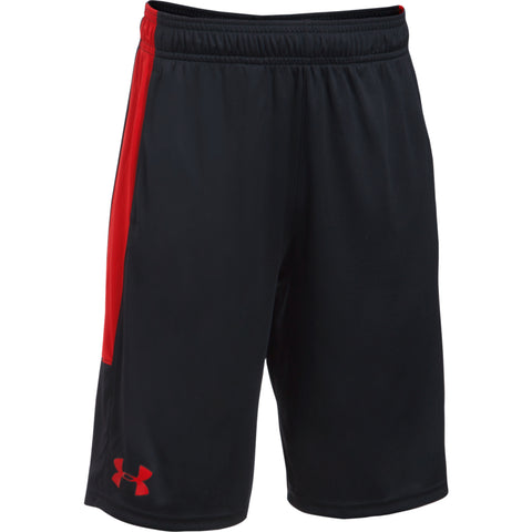 UNDER ARMOUR BOY'S STUNT SHORT BLACK