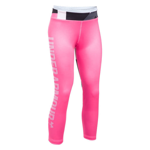 UNDER ARMOUR GIRL'S MIX MASTER CAPRI PINK