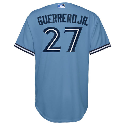 OUTERSTUFF YOUTH TORONTO BLUE JAYS GUERRERO JR. ALTERNATE 2 JERSEY HORIZON BLUE