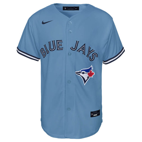 OUTERSTUFF YOUTH TORONTO BLUE JAYS REPLICA ALTERNATE 2 JERSEY HORIZON BLUE