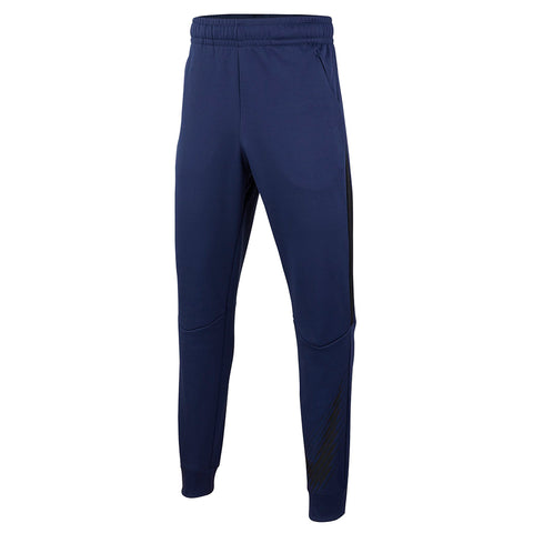 NIKE BOY'S THERMA GFX TAPERED PANT MIDNIGHT NAVY/THUNDER GREY