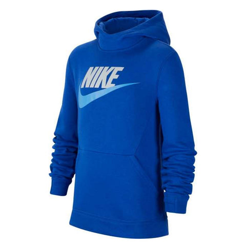 NIKE BOY'S NSW PULLOVER HOODY CLUB FLEECE GAME ROYAL