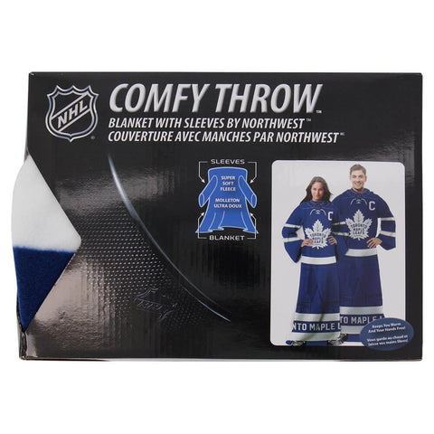 GROSNOR TORONTO MAPLE LEAFS NHL CAPTAIN COMFY THROW