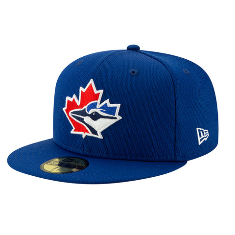 NEW ERA TORONTO BLUE JAYS 2020 BATTING PRACTICE 5950 CAP BLUE