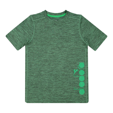 DIADORA BOY'S EVERYDAY TRAINING TEE GREEN