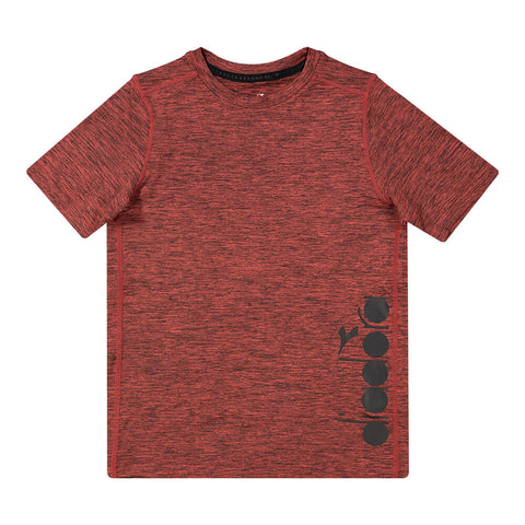 DIADORA BOY'S EVERYDAY TRAINING TEE RED