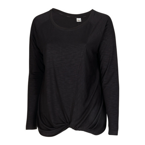DIADORA WOMEN'S FREE FLOW LONG SLEEVE BLACK