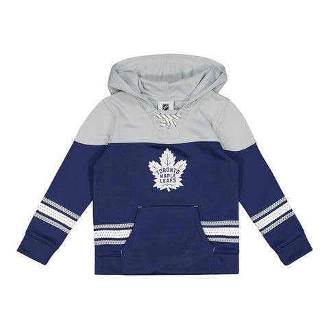 OUTERSTUFF 4-7 TORONTO MAPLE LEAFS FREEZER PERFOMANCE HOCKEY HOODY