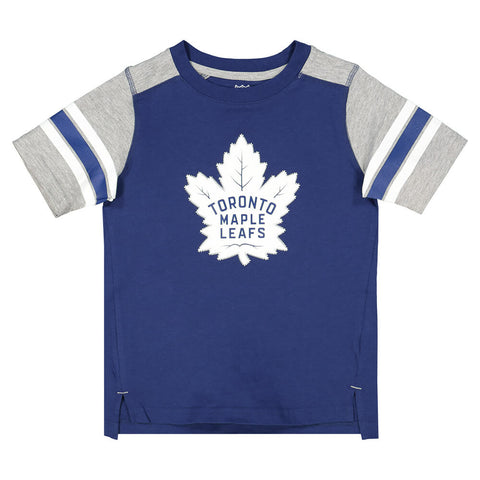OUTERSTUFF 4-7 TORONTO MAPLE LEAFS CRASHING THE NET SHORT SLEEVE FASHION TOP