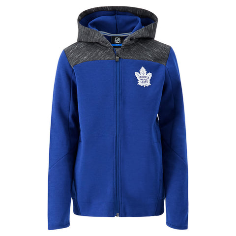 OUTERSTUFF YOUTH TORONTO MAPLE LEAFS CENTRIPEDAL FULL ZIP HOODY
