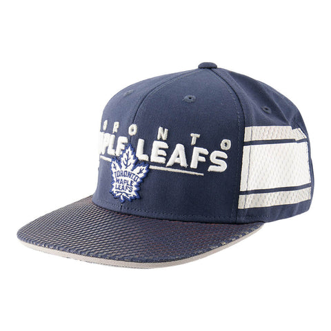 OUTERSTUFF YOUTH TORONTO MAPLE LEAFS BLUELINER FLATBRIM SNAPBACK HAT