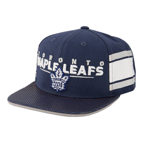 OUTERSTUFF YOUTH TORONTO MAPLE LEAFS AUTHENTIC RINKSIDE ALPHA STRUCT ADJUSTABLE HAT