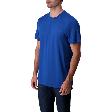DIADORA MEN'S BASIC TECH SHORT SLEEVE TOP TRUE BLUE