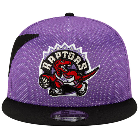 NEW ERA MEN'S TORONTO RAPTORS 950 HWC NIGHTS MESH HAT BLACK