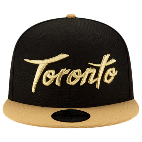 NEW ERA MEN'S TORONTO RAPTORS CITY SERIES 19 950 HAT BLACK