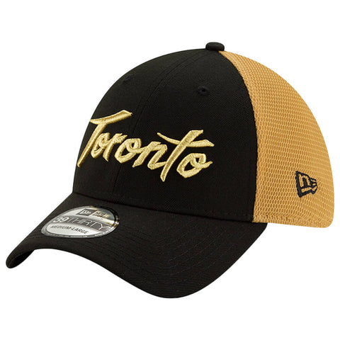 NEW ERA MEN'S TORONTO RAPTORS CITY SERIES 19 3930 HAT BLACK
