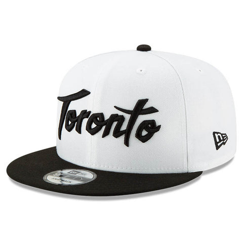 NEW ERA MEN'S TORONTO RAPTORS CITY SERIES 19 HOLIDAY 950 HAT WHITE