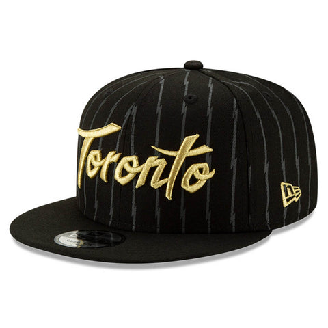NEW ERA MEN'S TORONTO RAPTORS CITY SERIES 19 HOLIDAY 950 HAT ALTERNATE BLACK