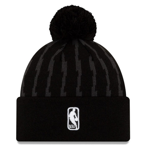 NEW ERA MEN'S TORONTO RAPTORS CITY SERIES 19 HOLIDAY KNIT HAT ALTERNATE BLACK
