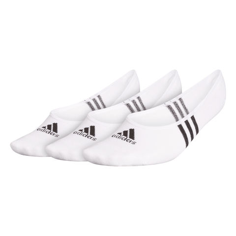 ADIDAS WOMEN'S CLIMACOOL NO SHOW 3 PACK WHITE