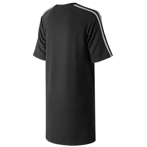NEW BALANCE WOMEN'S ATHLETIC TEE DRESS BLACK