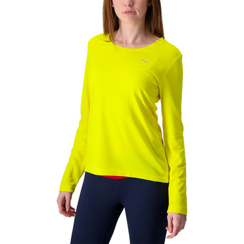 FILA WOMEN'S  FUNDAMENTAL LONG SLEEVE YELLOW