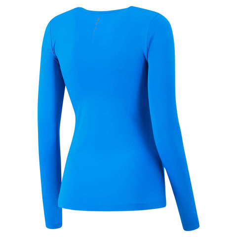 FILA WOMEN'S MAJOR LONG SLEEVE DEEP SKY/LAKE BLUE/BLACK