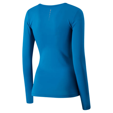 FILA WOMEN'S MAJOR LONG SLEEVE DARK TEAL/MIDNIGHT/FLAME RED
