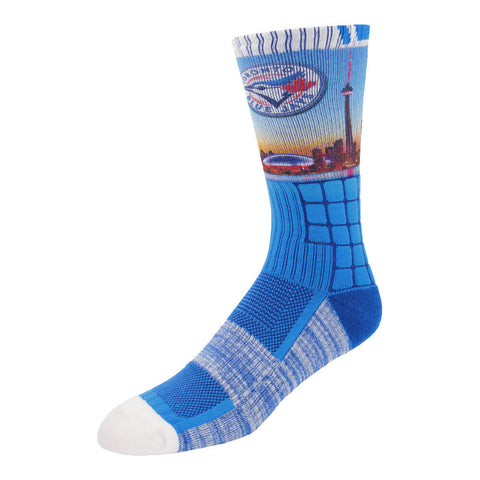 FBF ORIGINALS MEN'S TORONTO BLUE JAYS CITY IDENTITY SOCKS