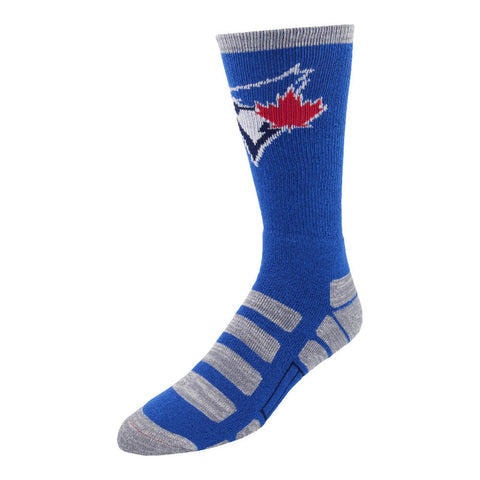 FBF ORIGINALS MEN'S TORONTO BLUE JAYS PATCHES SOCKS