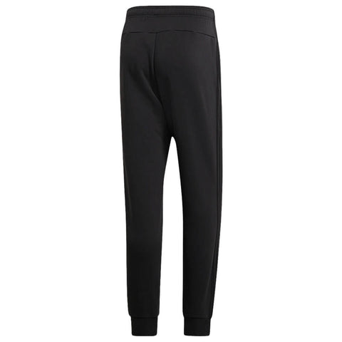 ADIDAS MEN'S ESSENTIAL 3 STRIPE TAPERED FLEECE PANT BLACK