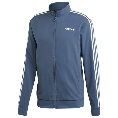 ADIDAS MEN'S ESSENTIAL 3 STRIPE TRACK JACKET INK/WHITE