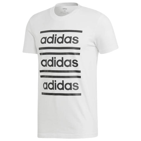 ADIDAS MEN'S CELEBRATE THE 90'S SHORT SLEEVE TOP WHT/BLK