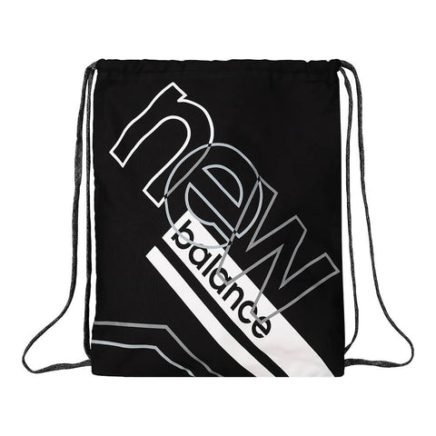NEW BALANCE GRAPHIC CINCHSACK BLACK