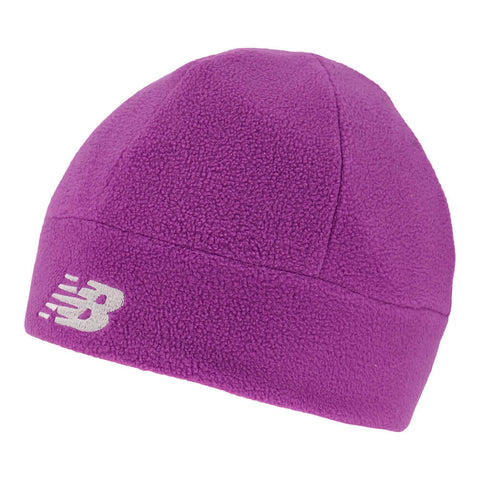NEW BALANCE REVERSIBLE BEANIE IMPERIAL PURPLE/CERISE
