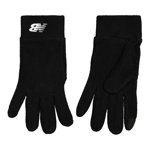NEW BALANCE HEAVY WEIGHT FLEECE GLOVE II BLACK