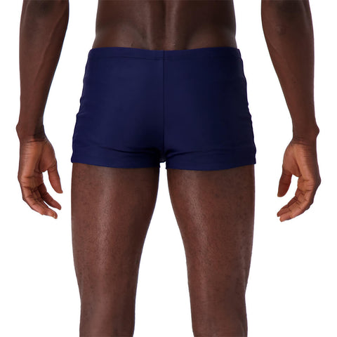 NIKE MEN'S SOLID SQUARE LEG TRUNKS NIDNIGHT NAVY