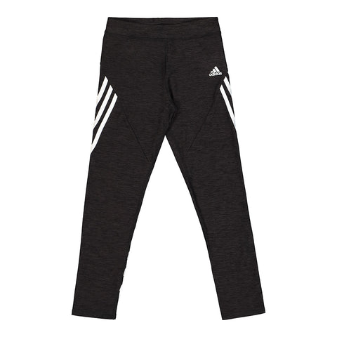 ADIDAS GIRL'S WRAP STRIPE TIGHT BLACK