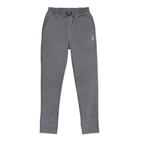 SPYDER BOY'S DOUBLE KNIT JOGGER COAL HEATHER
