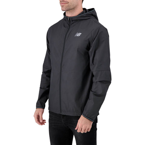 NEW BALANCE MEN'S VELOCITY JACKET BLACK