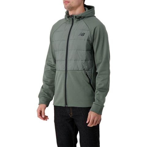 NEW BALANCE MEN'S TENACITY HYBRID PUFFER JACKET