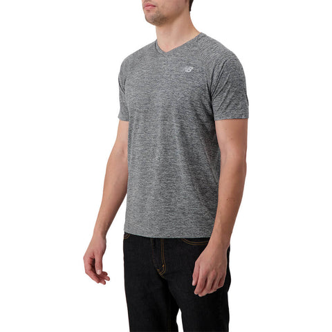 NEW BALANCE MEN'S MESH ICE 2.0 SHORT SLEEVE TOP