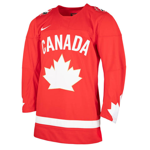 NIKE MEN'S TEAM CANADA HERITAGE HOCKEY JERSEY RED