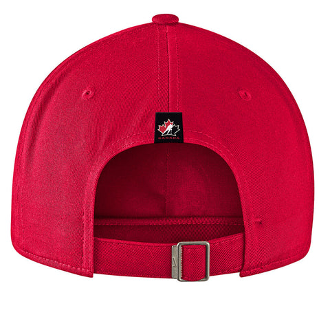 NIKE MEN'S TEAM CANADA H86 ADJUSTABLE CAP RED