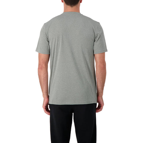 NIKE MEN'S CORE COTTON  HOCKEY SHORT SLEEVE TOP GREY