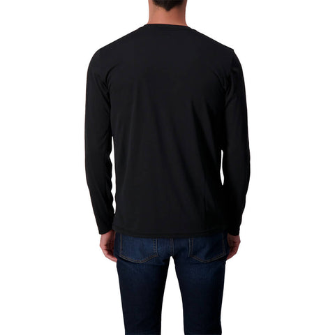 NIKE MEN'S DRI-FIT LEGEND 2.0 LONG SLEEVE HOCKEY TOP BLACK