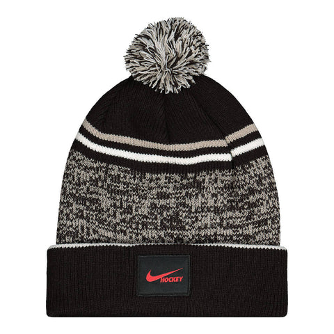 NIKE MEN'S CUFFED HOCKEY BEANIE BLACK