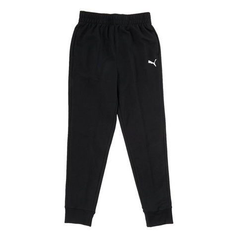 PUMA BOY'S TAPE PACK FRENCH TERRY ESSENTIAL JOGGER PUMA BLACK